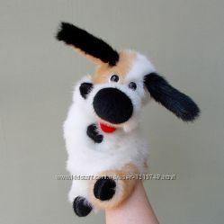 Собачка. Игрушка - перчатка для домашнего кукольного театра.