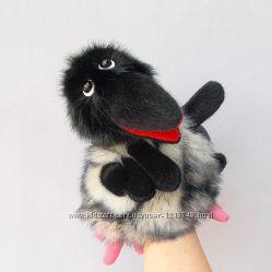 Ворона. Игрушка - перчатка для домашнего кукольного театра.