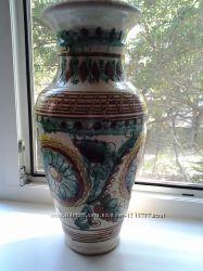 Напольная ваза в украинском стиле.