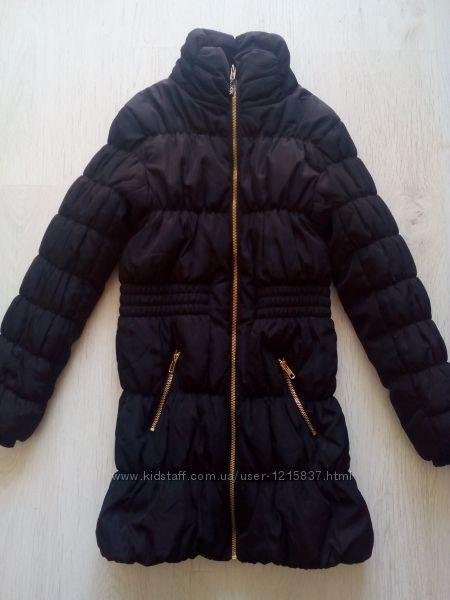 Куртка-пальто H&M 9-11 лет.