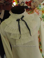 Гольф блузка белая школьная новые, есть размеры