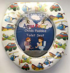 Мягкое сиденье-накладкадля унитаза Aqua Fairy Мягкое сиденье-накладкадля ун