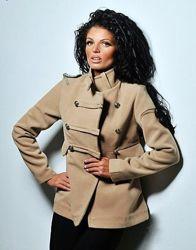 Пальто полупальто пиджак размер с-м