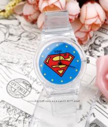 часы прозрачные силиконовые в наличии- Уцененные