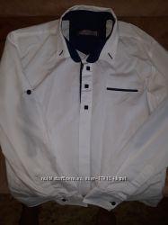 Белоснежная рубашка для мальчика
