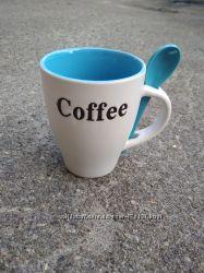 Чашка подарочная с ложкой