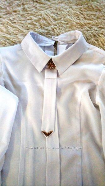 Блузка-рубашка 3-4 класс