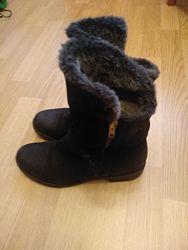теплые зимние ботинки р38