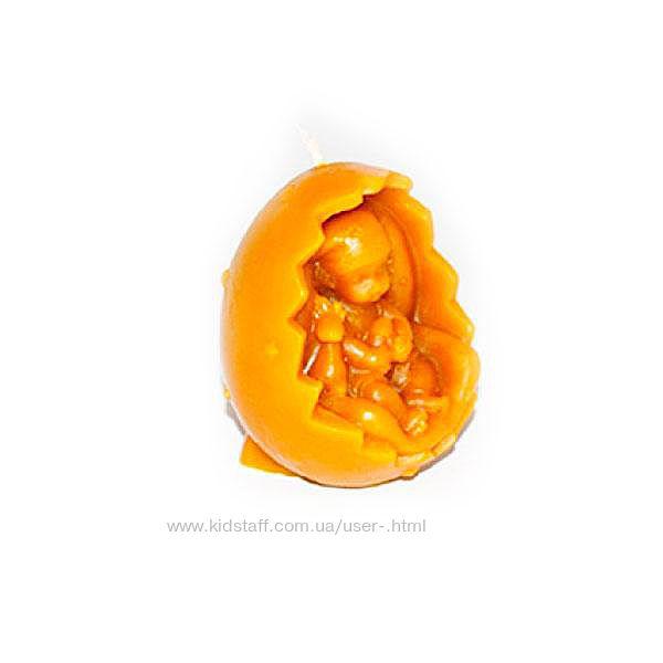 Свечи фигурные Пасхальное яйцо с младенцем