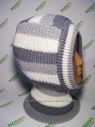 Шлемы NANKA - однотонные, полосатые, деми, зима