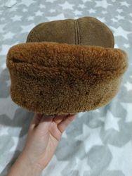 Меховая шапка цигейга зима
