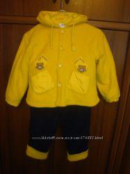 Костюм на осень-весну куртка, штанишки, шапка, шарф