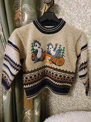 Теплый свитер на мальчика Турция