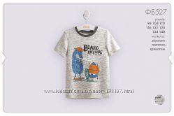 Летние футболки для мальчиков от 3 до 8 лет