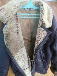 Дубленка натуральная овчина мутон