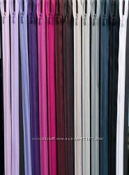 молния  YKK потайная 60 см 160 цветов