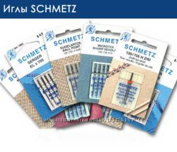 иглы SCHMETZ двойная,  тройная для декоративной строчки