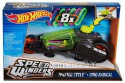 New Машинка Hot Wheels Speed Winders Twisted Cycle Vehicle Турбоскорость