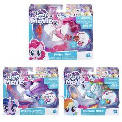 My Little Pony Movie Pinkie Pie Flip Flow Seapony Figure E0713 Жидкость Нал