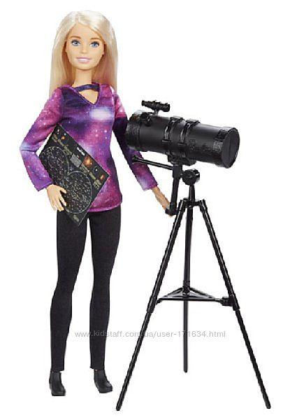 Кукла Барби Астрофизик Barbie National Geographic Astrophysicist Doll Налич