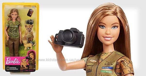 Кукла Барби Фотожурналист Barbie National Geographic Photojournalist Налич