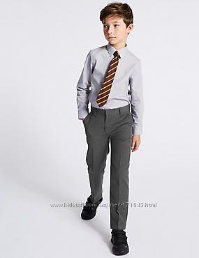 Рубашки MARKS&SPENCER на мальчика 8-9 лет