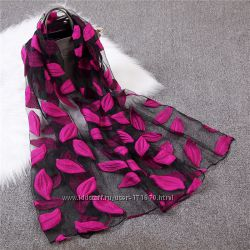 Женский лёгкий шарф