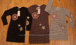 Разные платья, туники, сарафаны F&D, 4 до 16 лет.