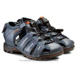 Ecco Urban Safari Kids сандалии ЕССО с закрытым носком синие