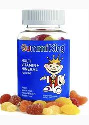 Gummi King Мультивитамины и минералы для детей, 60 жевательных мармеладок