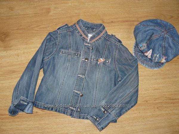 Кепка джинсовая на 5-8 лет