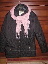 Стеганные курточки девочке 8-10-13 лет