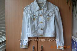 Нарядный пиджак для девочки 140р.
