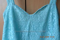 Нежно-голубой летний сарафан , размер М-Л