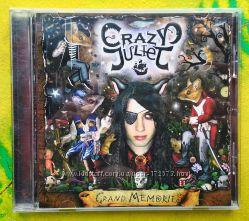 CD Crazy Juliet Grand Memories лицензия