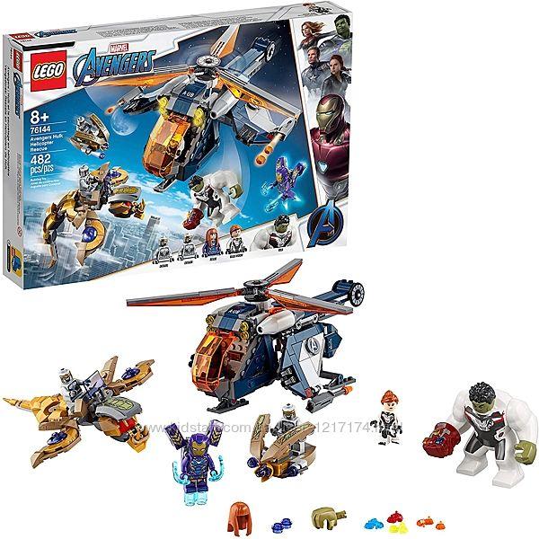 Lego Marvel 76144 Спасение Халка на вертолёте