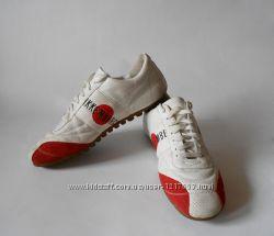 Кожаные кроссовки BIKKEMBERGS, оригинал 41 размер.