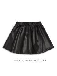 Кожаная юбка S
