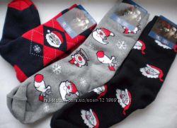 новогодние махровые мужские носки отличный подарок на новый год