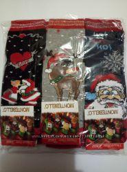 упаковка носков женские новогодние носочки Монтебелло