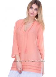 Туника персикового цвета  promod
