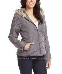 Куртка женская теплая с капюшоном, весна-осень, теплая зима. размер S