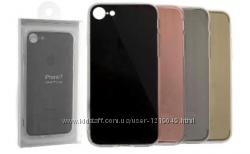 Чехол накладка силиконовая для iPhone 7 7S 7plus 4 цвета