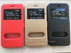 Золотой черный красный чехол книжечкой nilkin для iphone 7 7s 7plus 7s plus