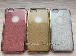 Двойной силиконовый чехол для iPhone 6 6s три цвета