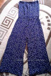 Крутой комбинезон Next синий со звёздочками, размер Л