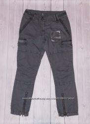 Летние штаны на девочку хлопок 140-146см