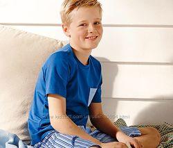 ТСМ Tchibo пижама на мальчика 122-128см эко хлопок, в упаковке