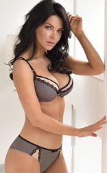 Комплект женского нижнего белья бюстгальтер kleo 2651, 2649 natural beauty