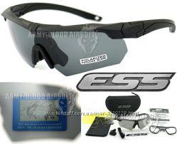 Тактические поляризованные очки ESS Crossbow Polarized с 3 линзами